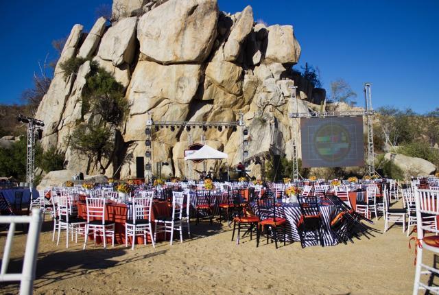 San Carlos event setup
