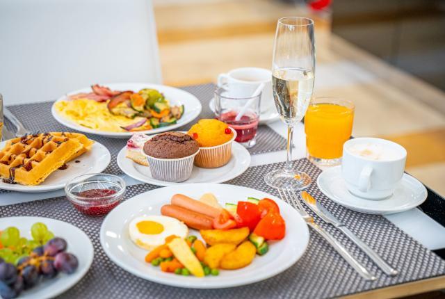 Breakfast with a twist