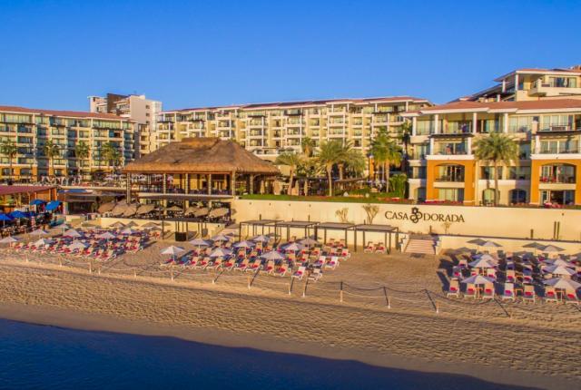 Casa dorada beach
