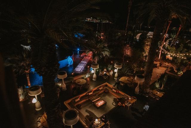 Outdoor Night Scenario