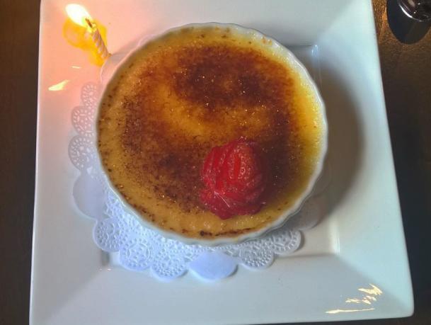 Dessert at Lynn's Bistro