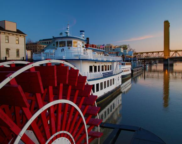 Delta King Paddlewheel