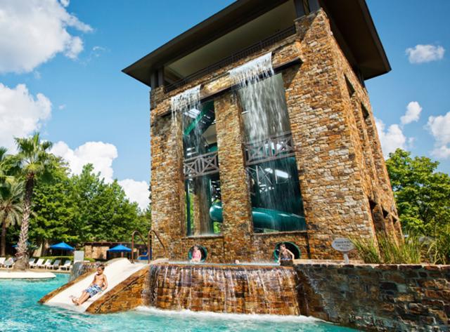 Slide at The Woodlands Resort