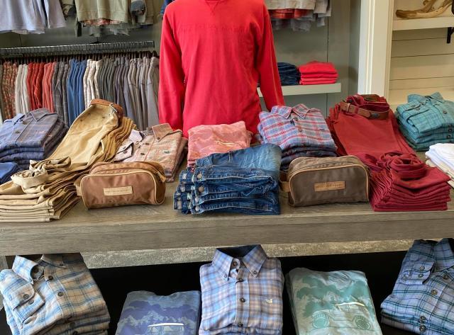Men's Clothing at Southern Marsh