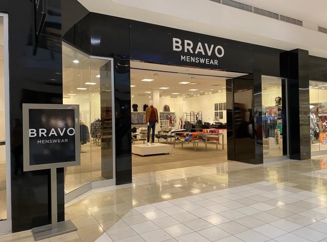 Storefront at Bravo Menswear