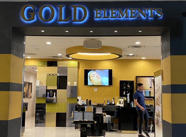 Exterior - Gold Elements
