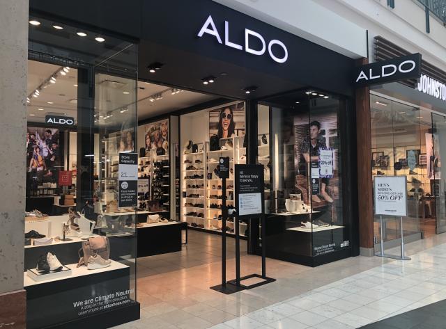 Exterior of Aldo
