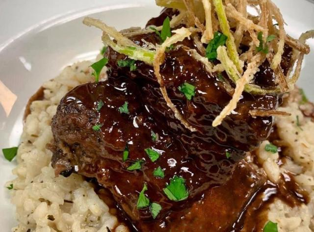 Beef Shortrib with Risotto