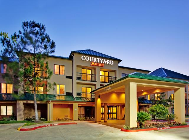 Exterior of the Courtyard by Marriott