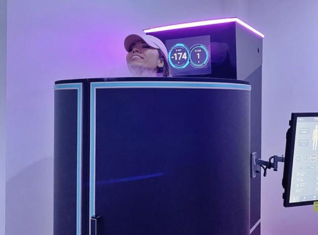 Cryotherapy at ThrIVe Drip Spa