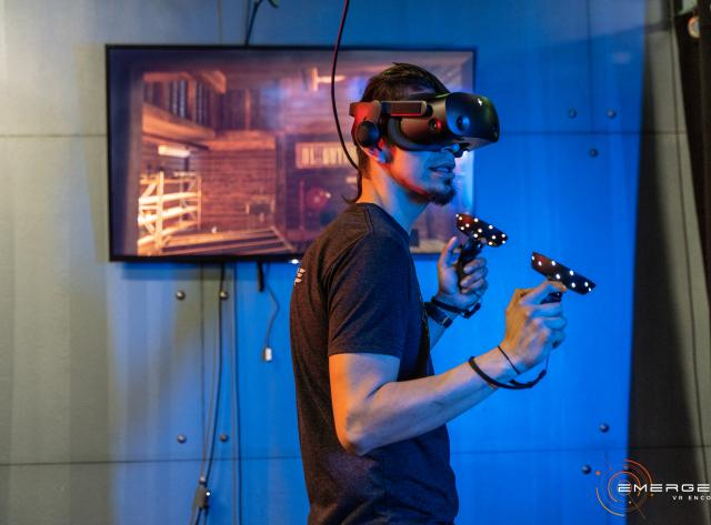 Virtual Reality at Emergent VR Encounter