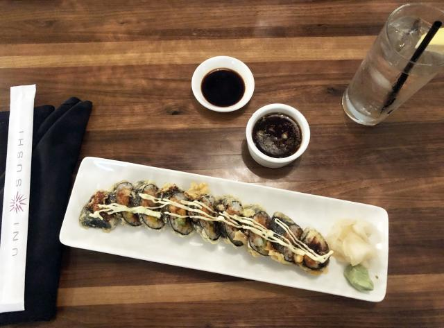 Uni Sushi - 7 & 1/2 Roll