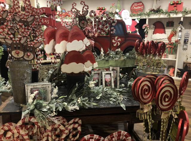 Christmas Décor at Round Top Collection