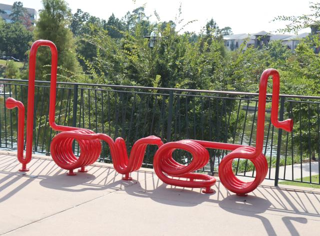 Art Bench: You Are Loved