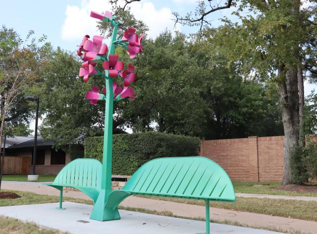Art Bench: Penstemon