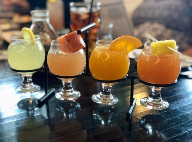 Mimosa Flight at Fielding's Local Kitchen + Bar
