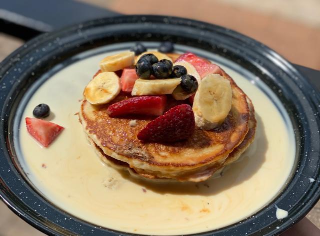 Baja Cantina - Tres Leches Pancakes