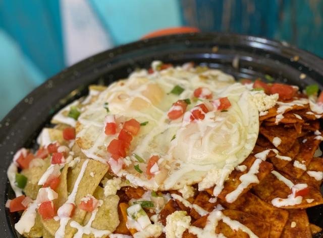 Baja Cantina - Volacano Chilaquiles