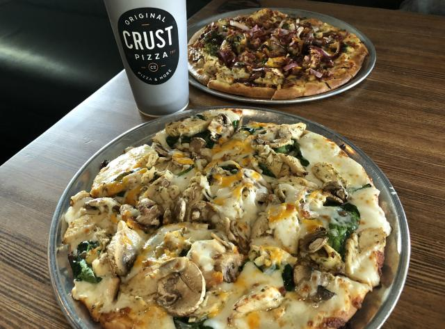 Pizza at Crust