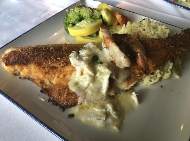 Red Fish at Landry's Seafood