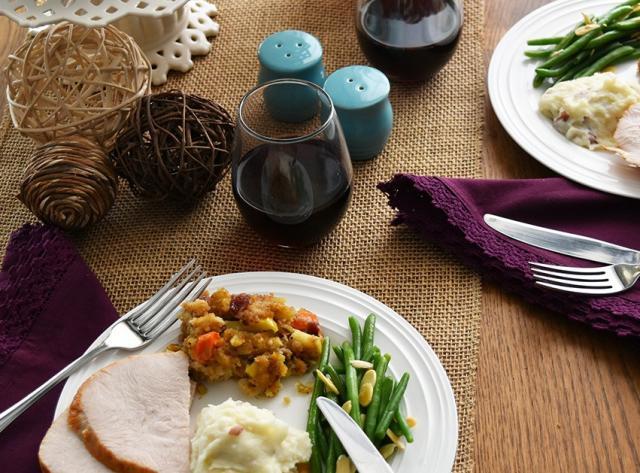 Thanksgiving at La Madeleine