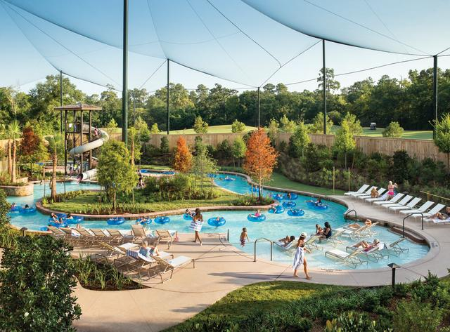 The Woodlands Resort & Conference Center Pool Aerial