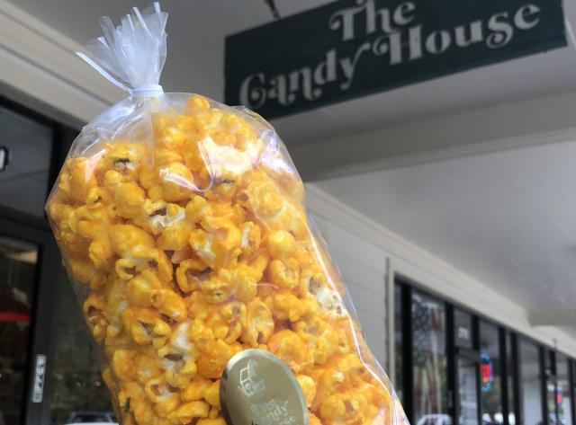 Cheese Popcorn at The Candy House