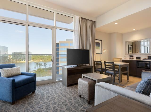 Embassy Suites The Woodlands at Hughes Landing