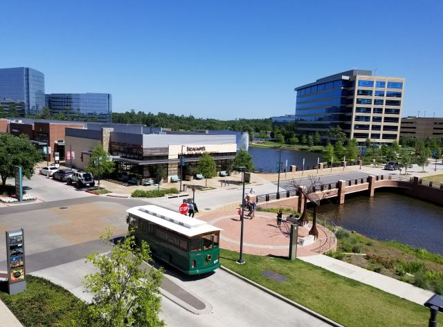 The Woodlands Waterway Trolley - Hughes Landing