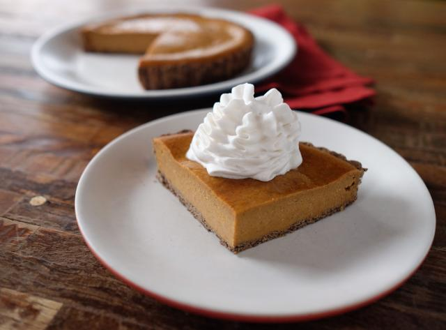 True Food Kitchen: Squash Pie
