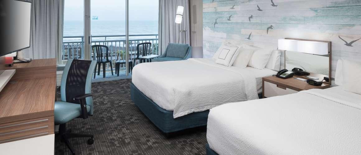 Courtyard Carolina Beach Oceanfront Suite