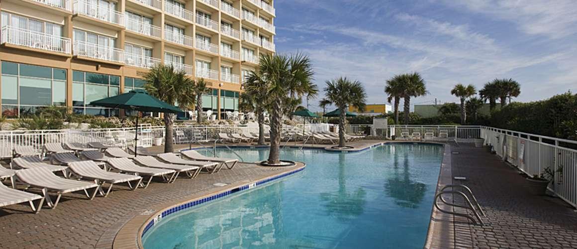 Courtyard Carolina Beach Oceanfront Outdoor Pool