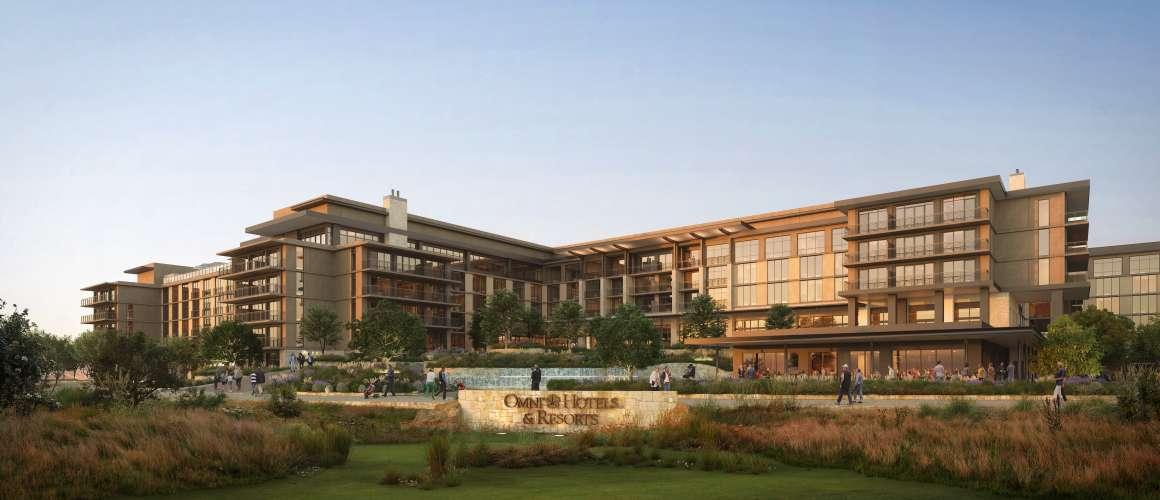Omni PGA Frisco Resort Rendering, Front View