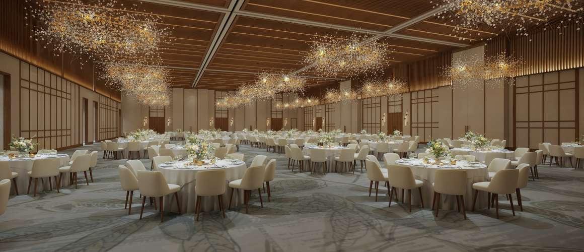Omni PGA Frisco Resort Rendering, Junior Ballroom