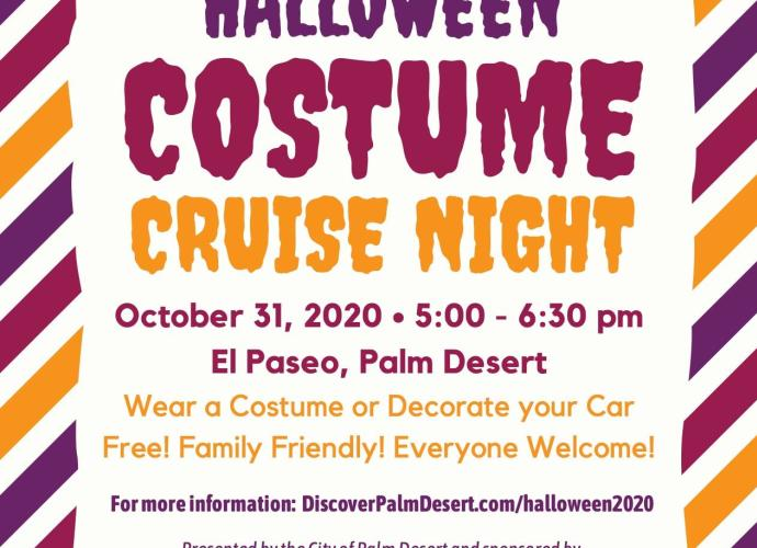 Mineral Springs Halloween Campout 2020 Lineup Halloween Costume Cruise Night | Palm Desert, CA 92260