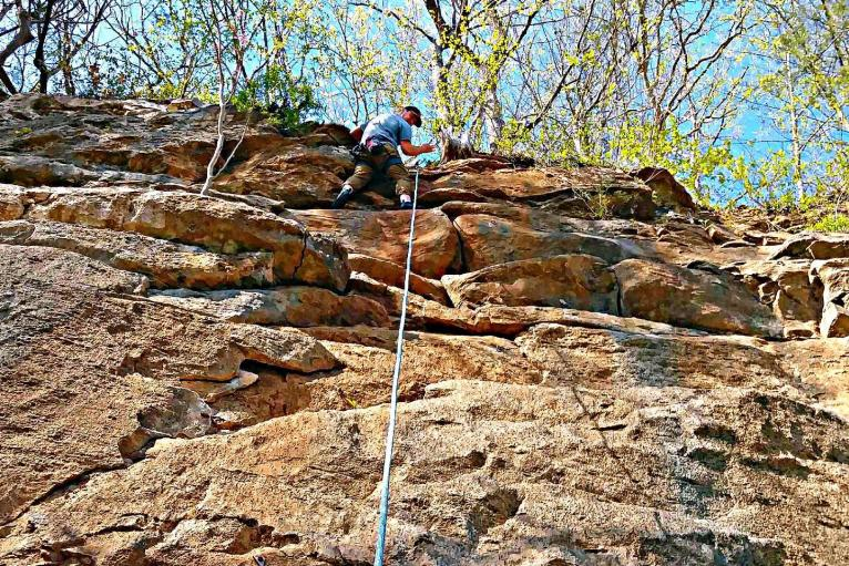 King's Bluff Rock Climbing
