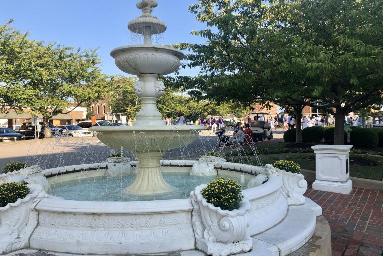 Public Square Fountain
