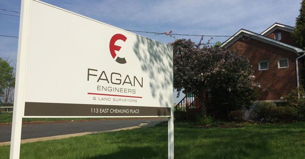 Fagan_Engineers_and_Land_Surveyors_Building_Sign