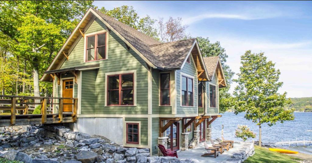 Finger Lakes Premier Properties - Lakehouse Exterior