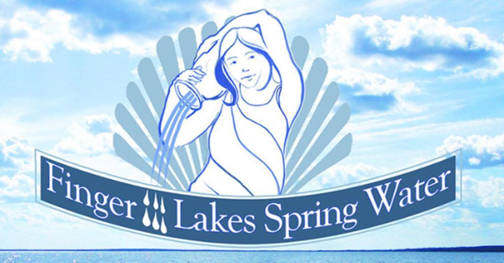 Finger Lakes Spring Water - Logo Banner