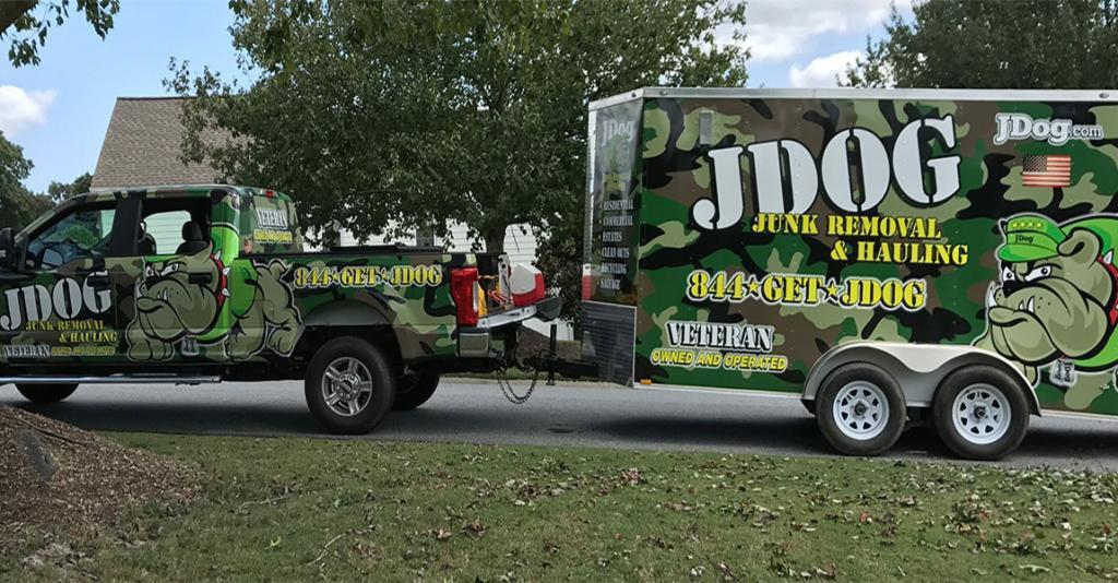 JDog Junk Removal - Logo Truck & Trailer