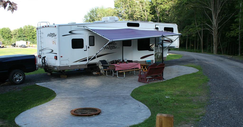 KOA Campgrounds - WG - Campsite