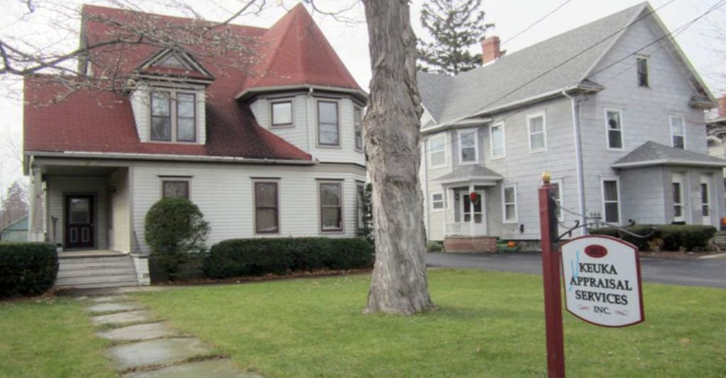 Keuka Appraisal Services - Building Exterior with Sign