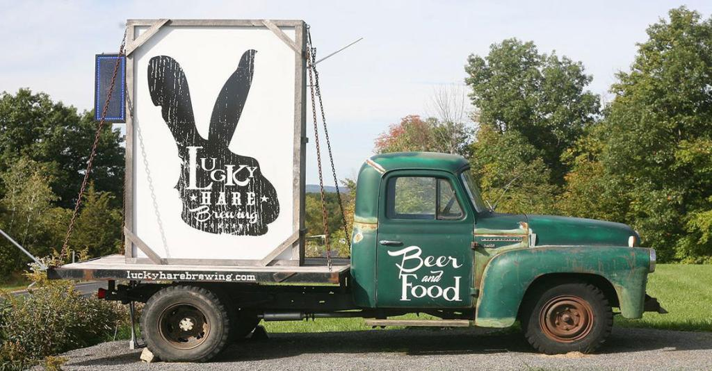 Lucky Hare Brewing Co - Logo Truck & Sign