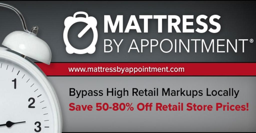 Mattress by Appointment - Banner