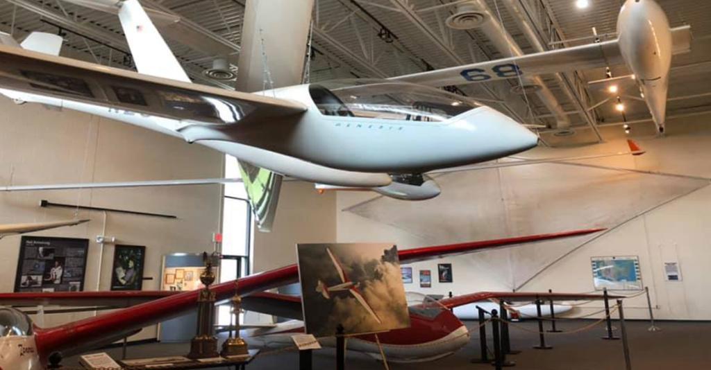 National Soaring Museum - Plane Display