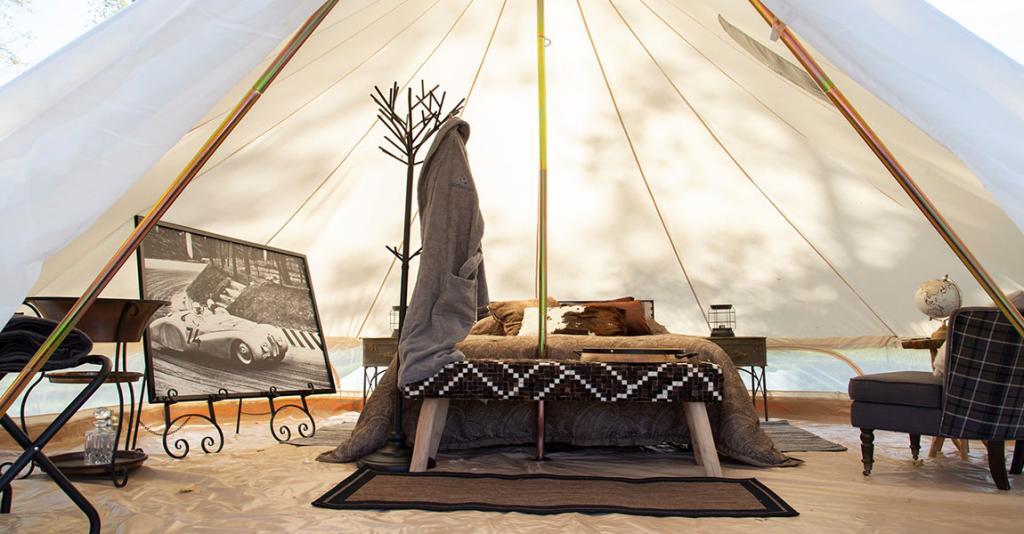 Naturluxe & Stars - Glamping Tent