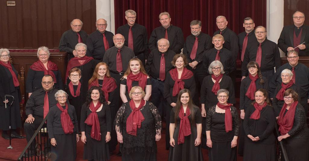 Orpheus Chorale of Hornell - Group Photo