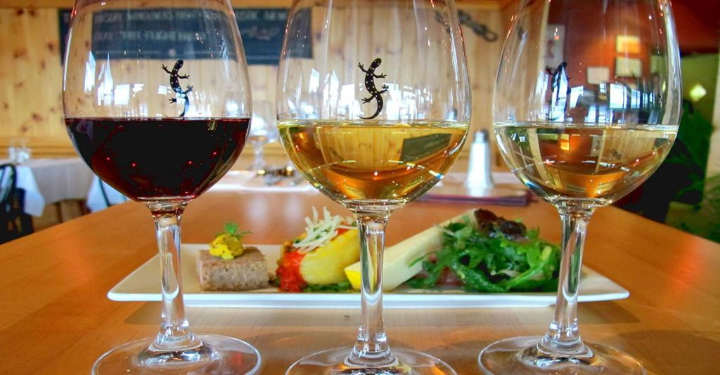 Red Newt Cellars Winery & Bistro - Wine Glasses