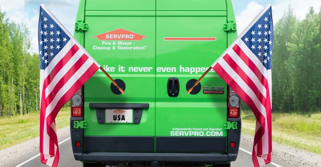 SERVPRO - Logo Truck Banner